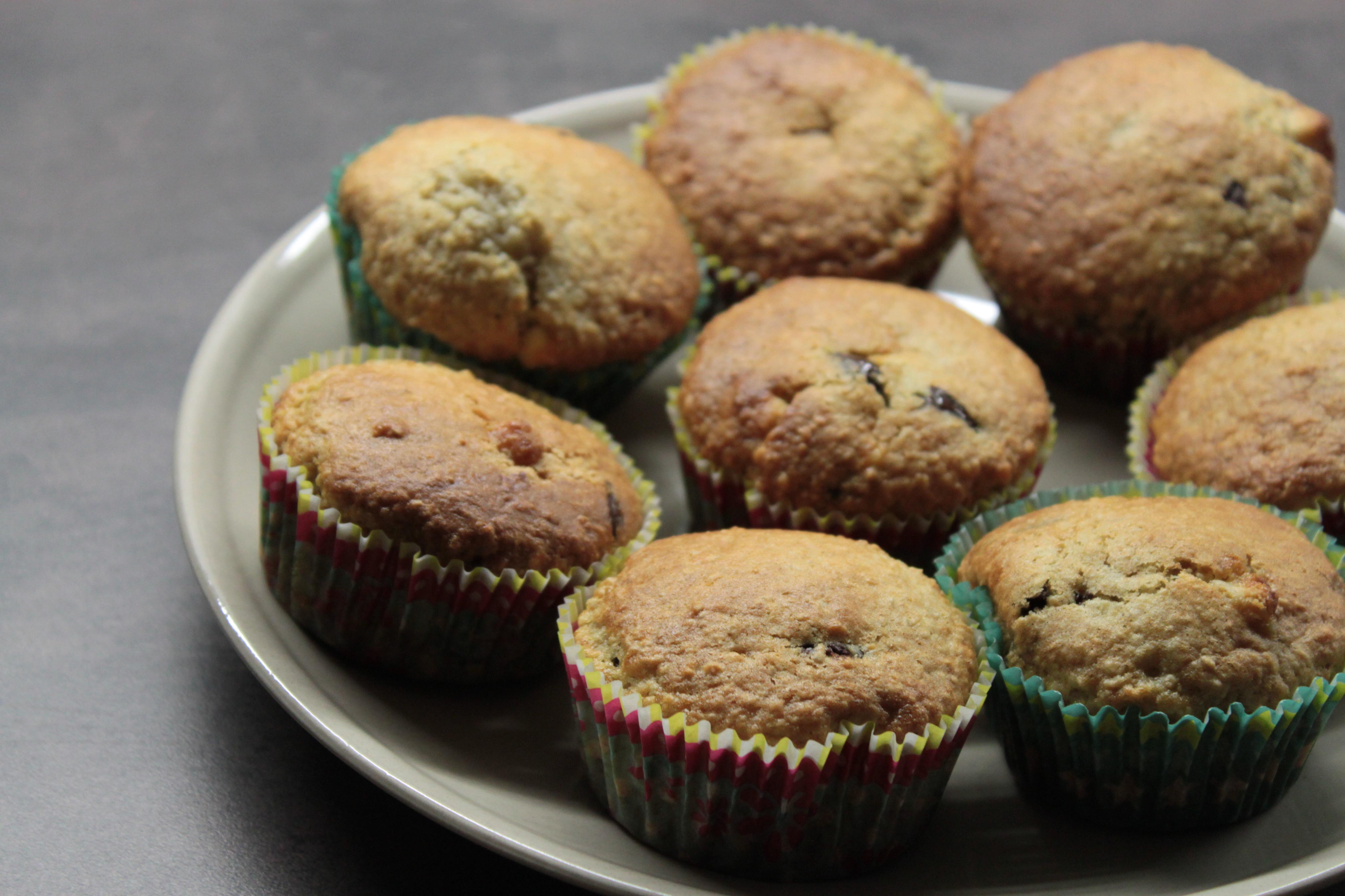 Muffins au son d 39 avoine chocolats tout en douceurs for Ambiance cuisine avoine