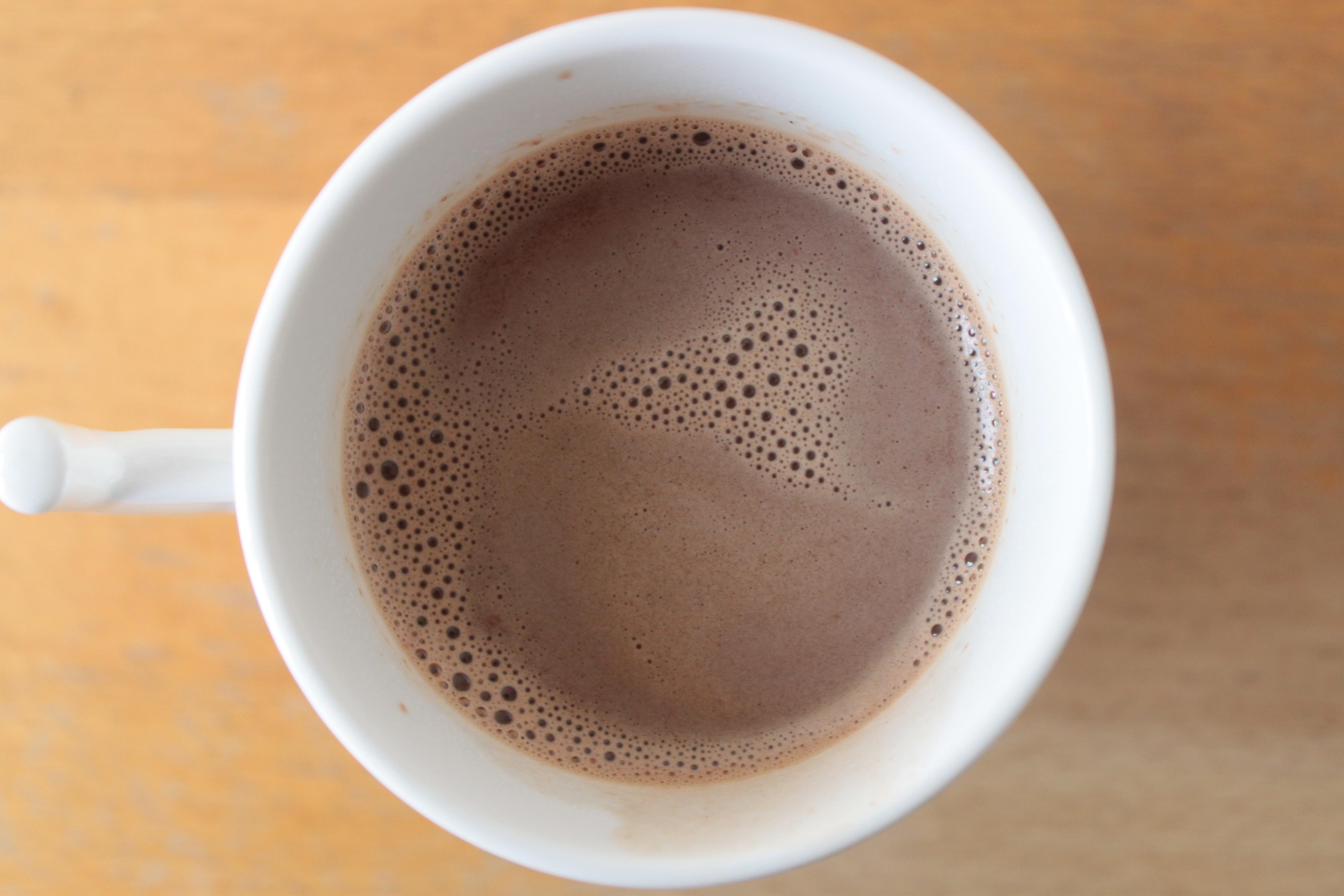 Le chocolat chaud qui nous fait aimer la météo | toutendouceurs